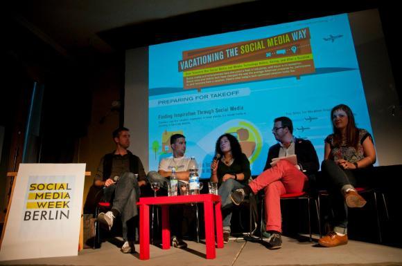 Social Media Week 2012 Social Traveling